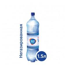 ВОДА Хелс Воте ЭКТИВ+ / Health Water ACTIVE+ 1,5 литра, ПЭТ, без газа, 6 шт. в упаковке