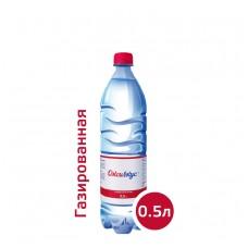 Вода Оксивкус / Oksivkus 0,5 литра, ПЭТ, газ, 12 шт. в упаковке