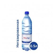 Вода Оксивкус / Oksivkus 0,5 литра, ПЭТ, без газа, 12 шт. в упаковке