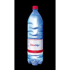 Вода Оксивкус / Oksivkus 1,0 литра, ПЭТ, газ, 8 шт. в упаковке