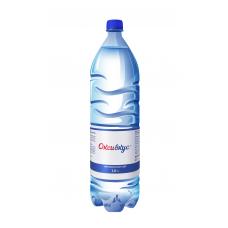 Вода Оксивкус / Oksivkus 1,0 литра, ПЭТ, без газа, 8 шт. в упаковке