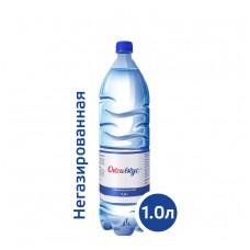 Вода Оксивкус / Oksivkus 1,0 литр, ПЭТ, без газа, 8 шт. в упаковке