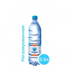 Вода ОКСИК 0,5 литра, ПЭТ, без газа, 12 шт. в упаковке