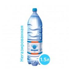 Вода ОКСИК 1,5 литра, ПЭТ, без газа, 6 шт. в упаковке