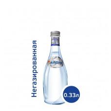 Вода РУСОКСИ / RUSOXY 0,33 литра, стекло, без газа, 24 шт. в упаковке