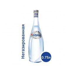 Вода РУСОКСИ / RUSOXY 0,75 литра, стекло, без газа, 12 шт. в упаковке
