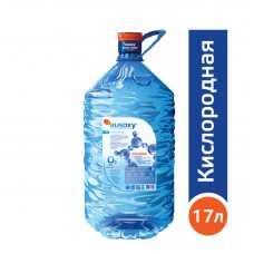 Вода РУСОКСИ / RUSOXY 17 литров, PET, для кулера, в индивидуальной упаковке