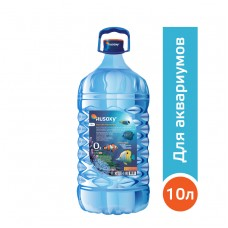 Вода РУСОКСИ / RUSOXY для аквариумов и рыб 10 литров, ПЭТ