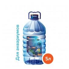 Вода РУСОКСИ / RUSOXY для аквариумов и рыб 5 литров, ПЭТ