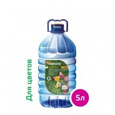 Вода РУСОКСИ / RUSOXY для цветов и комнатных растений 5 литров, ПЭТ